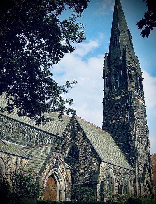 St Augustine's Wrangthorn Church in Hyde Park, Leeds