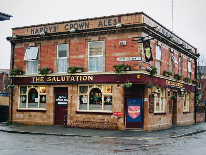 The Salutation pub in Hulme, famous for being the place where Charlotte Brontë began to write Jane Eyre, is now a popular choice among manchester students.