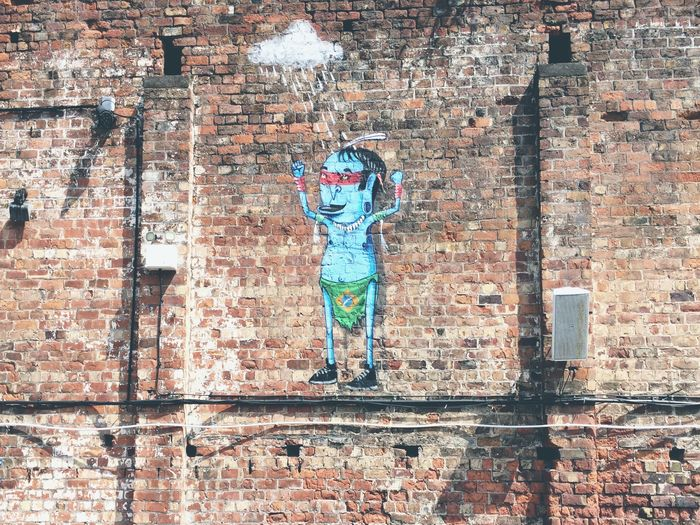 One of the many pieces of Street Art in Baltic Triangle