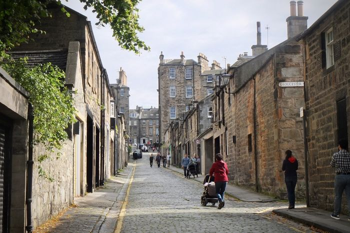 Gloucester Lane in New Town, Edinburgh