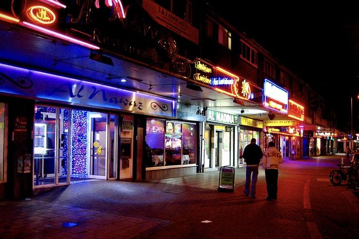Curry Mile is considered to be the largest concentration of South Asian restaurants outside the Indian subcontinent.